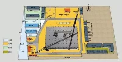 图2 结构阶段施工平面布置.webp